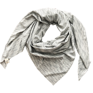 scarfs - blanket square - grey