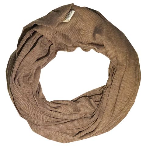 scarfs - infinity - brown