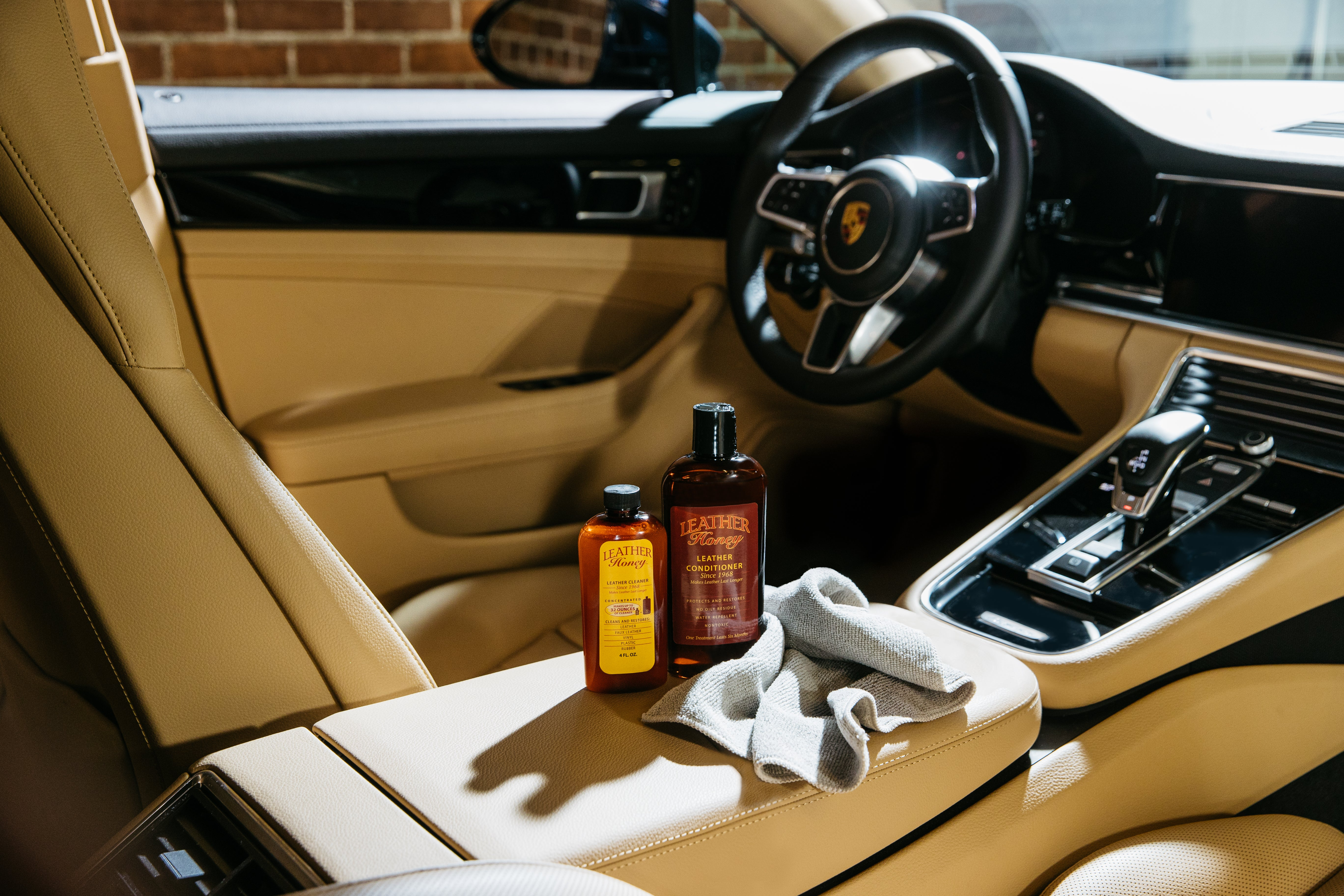 How to Care For Your Leather Car Seats