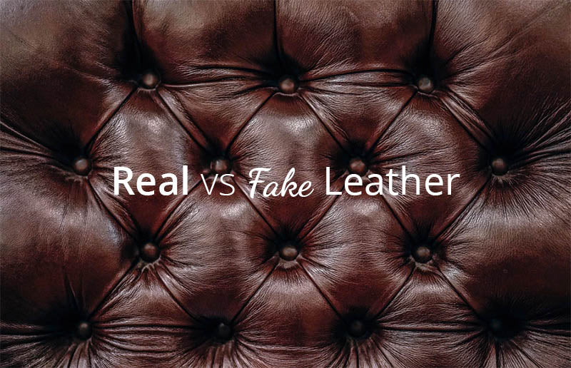 How to tell the difference between real & fake leather