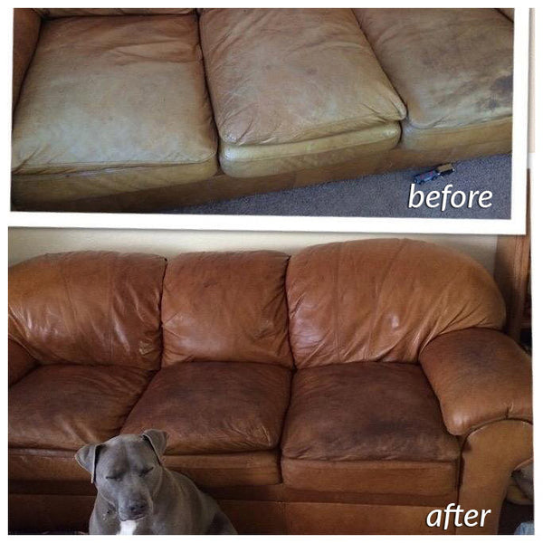 creative getting sofa out conditioning spray and couch leather stains protector conditioner of for