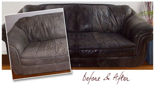Before Amp After Leather Honey Leather Conditioner
