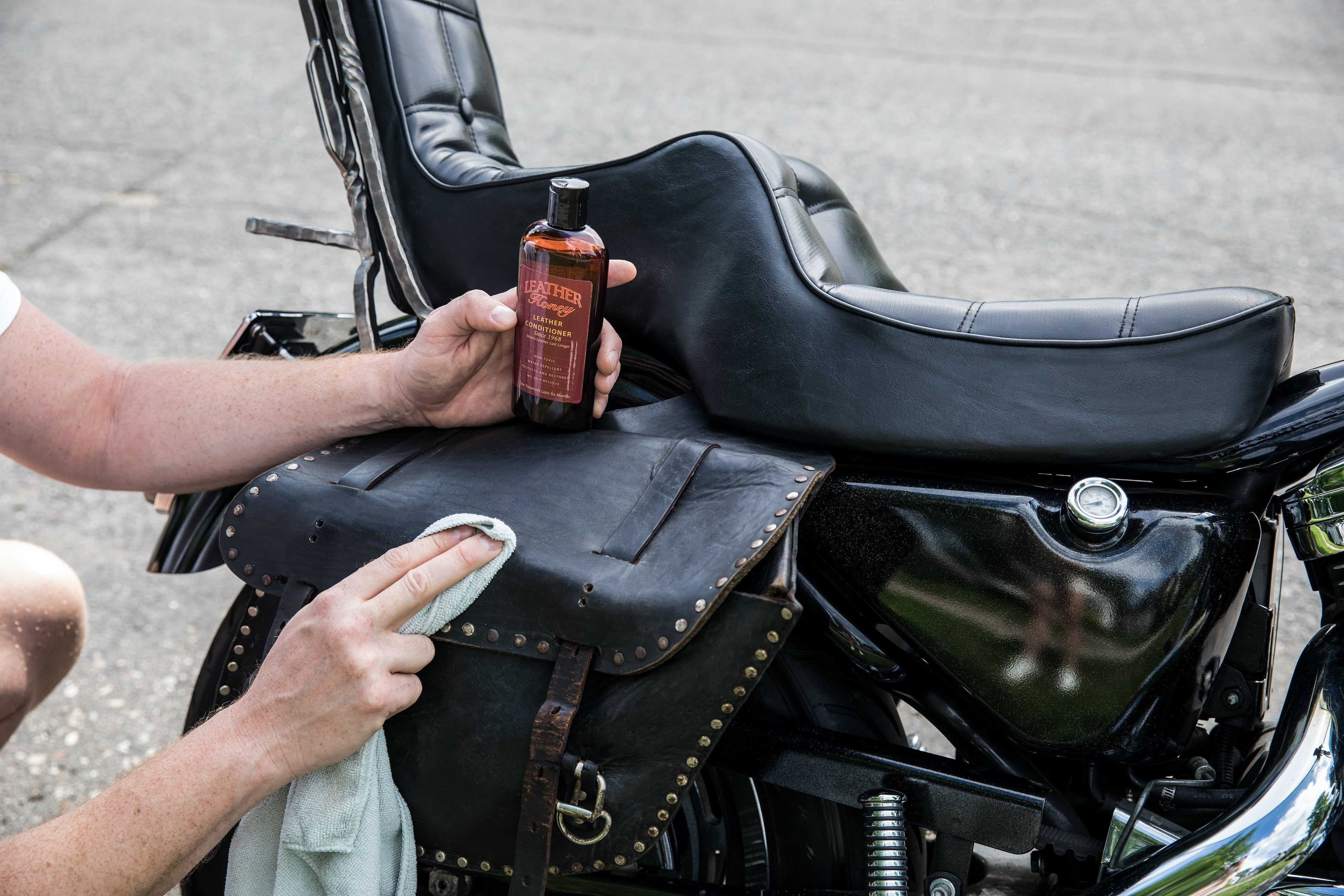 How to Care for Leather Seats and Motorcycle Accessories