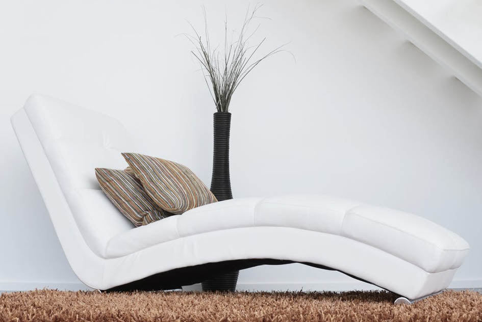 modern white leather sofa care