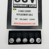 X-Hale Luxury Pen Replacement Coils GreenGiant Vapes - GreenGiant Vapes