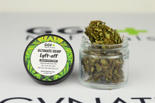Ultimate Hemp Lyft-Off Organic Hemp Flower 3.5g GreenGiant Unlimited - GreenGiant Vapes