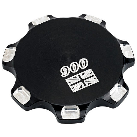 Joker Machine Billet Fuel Cap Union Jack 900  - Black