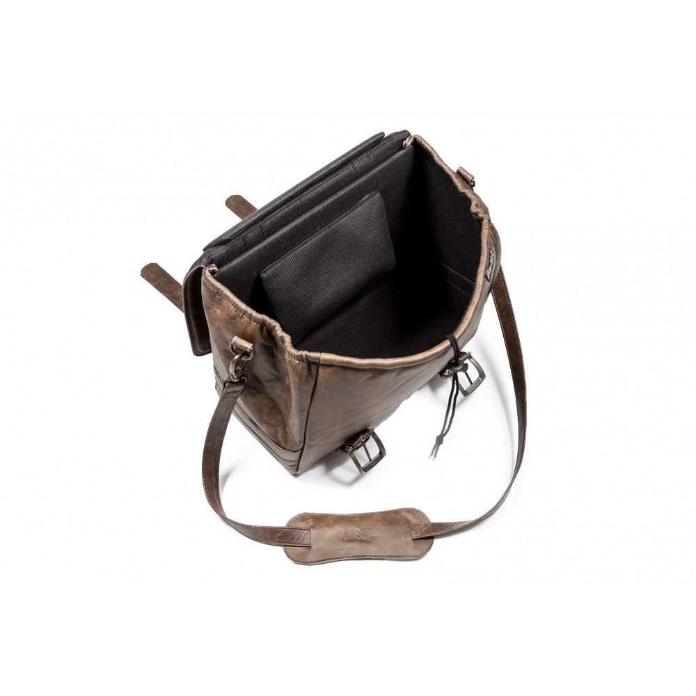 Leather Messenger Bag - Vintage Style - Alo's