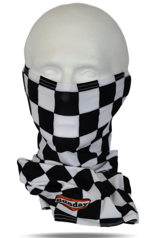 Damier Motorcycle Scarf