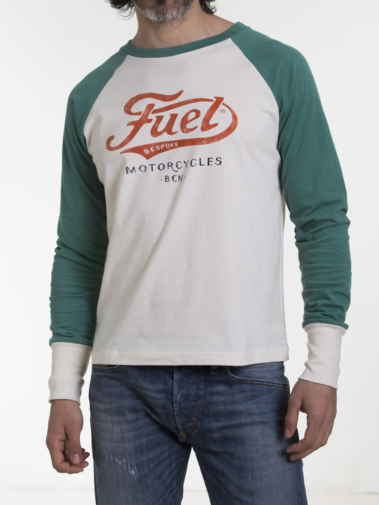Fuel Motorcycles -LOGO-Long sleeve T Shirt