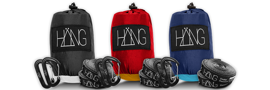 Three hammocks from HÄNG