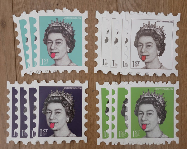 NEW COLOURS - QUEEN STICKER PACKS