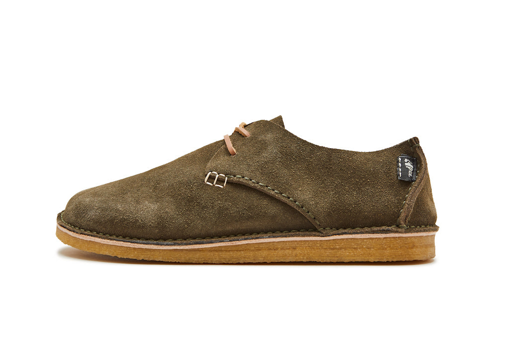 Yogi Footwear relaunched with the Classic range of moccasin styles which are are hand crafted, featuring full leather, leather laces and natural crepe & vibram sole units.