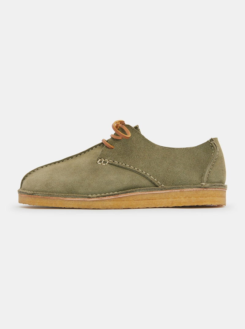 Lawson Reverse Nubuck Moccasin Sage Green