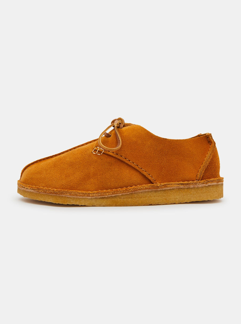 Caden Centre Seam Suede Dark Yellow