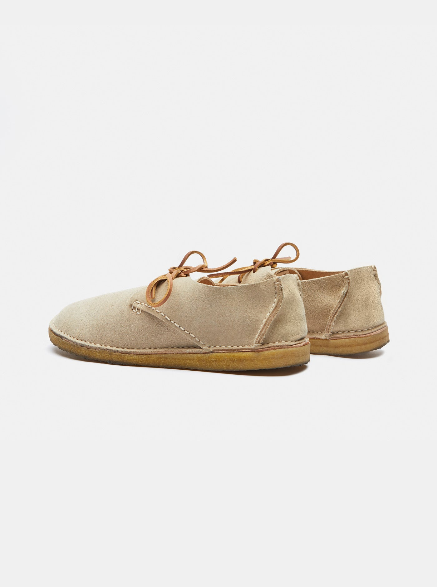 Caden Suede Lace-up Oatmeal