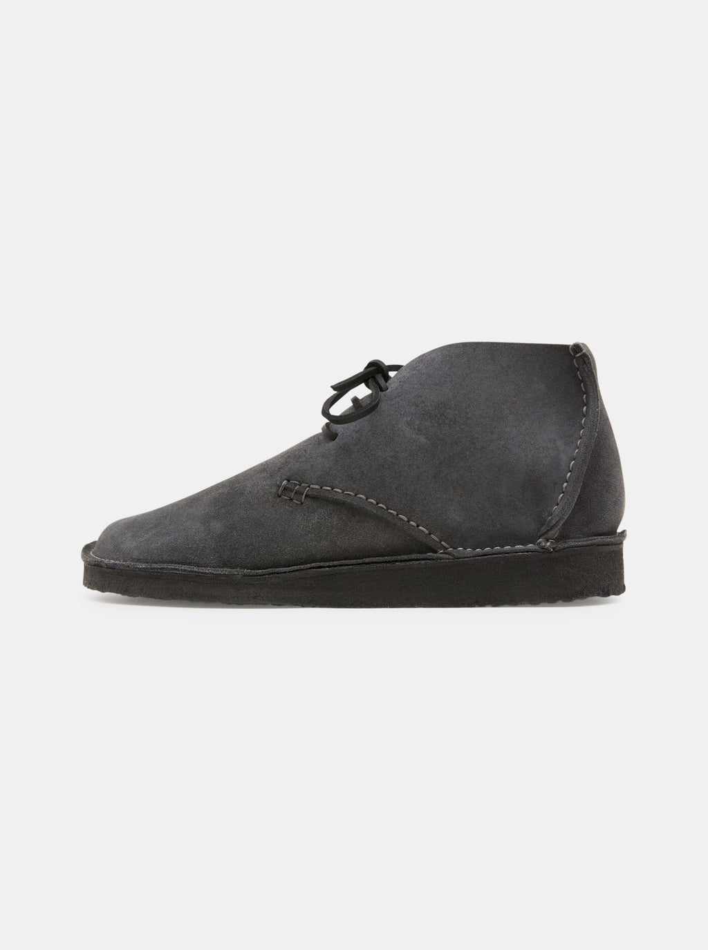 Glenn Suede Crepe Boot Charcoal