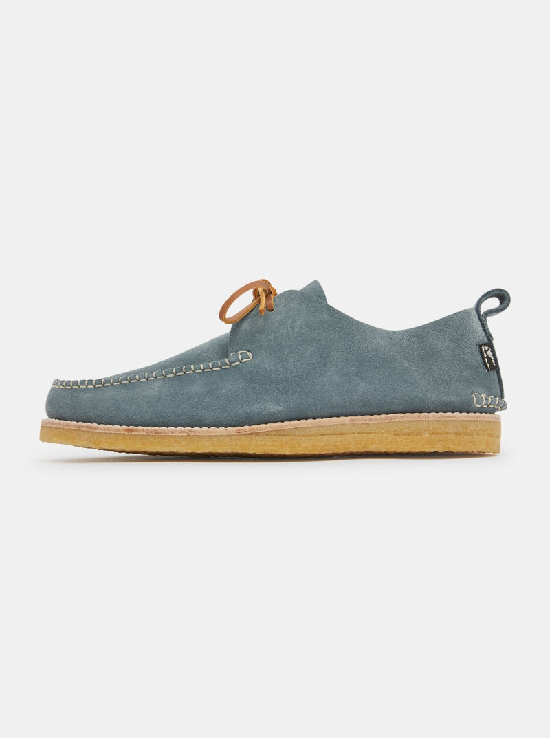 Lawson Reverse Nubuck Moccasin Denim Blue
