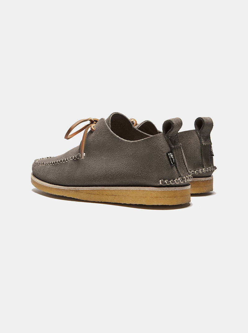 Lawson Suede Moccasin Charcoal