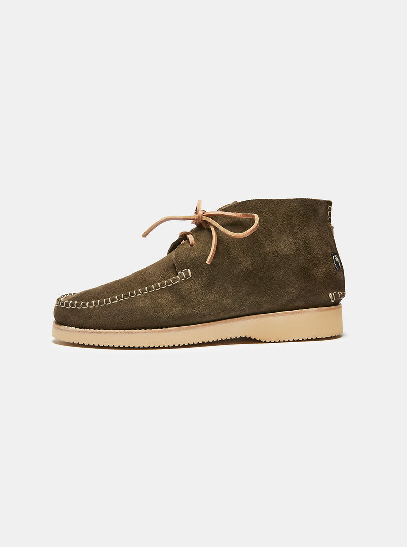 Lawson Suede Moccasin Olive