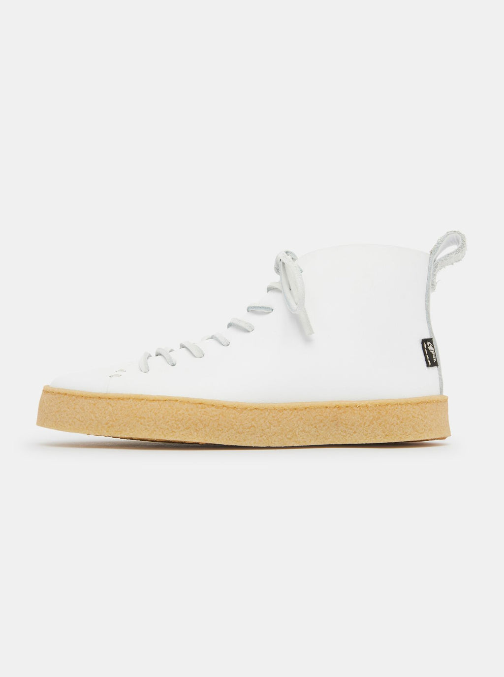 Winstone Womens Crepe Boot White Leather