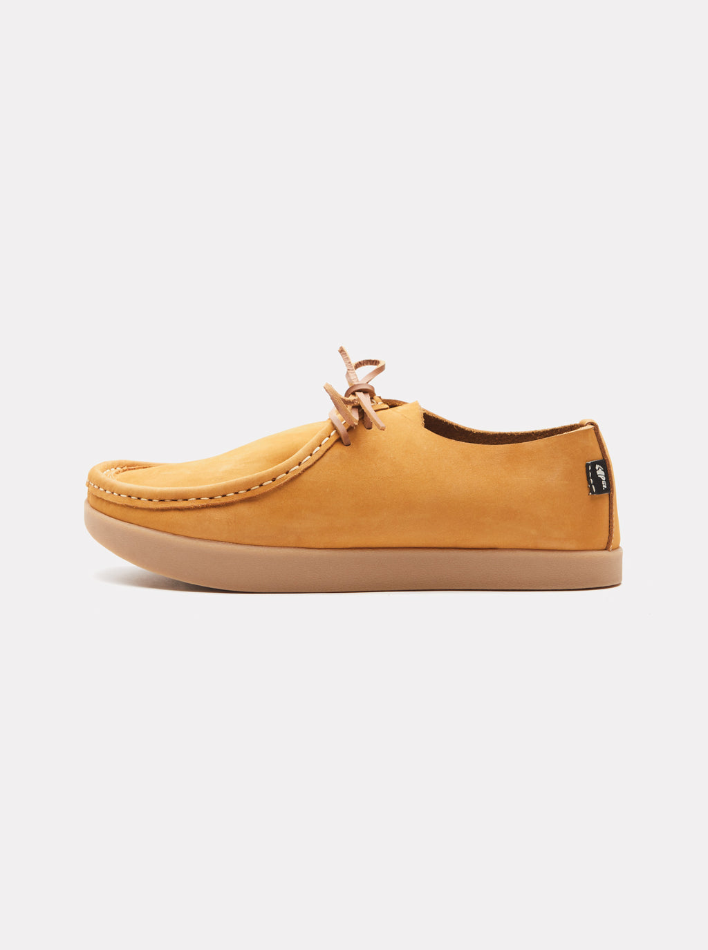 Willard Nubuck Negative Heel Wheat