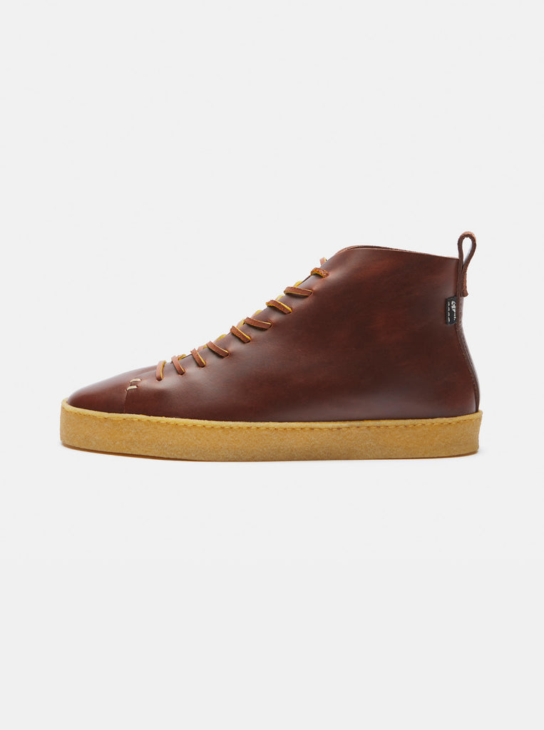 Winstone Crepe Brown Leather