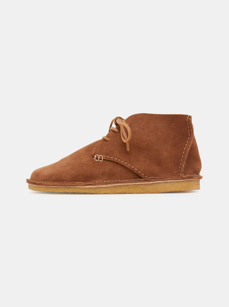 Lawson Tumbled Leather Moccasin Chocolate