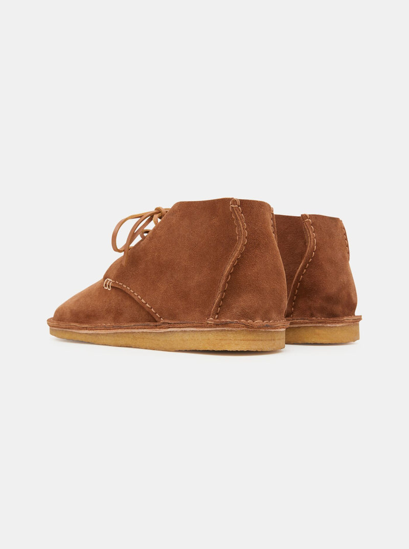 Glenn Suede Crepe Boot Cola