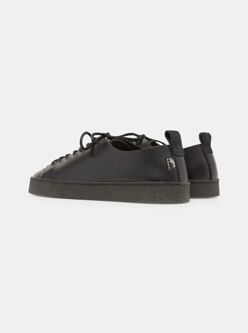 Rufus Crepe Black Leather