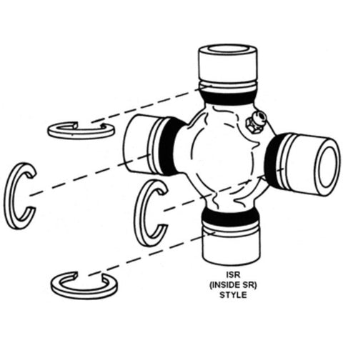 Spicer 5-1301X Greasable Universal Joint