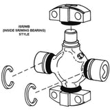 Spicer 5-5015X | (Mechanics ) Universal Joint, Greaseable