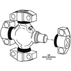 5-6211X Spicer 6C / 62N Series U-Joint Kit
