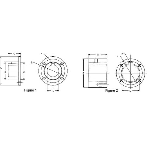 6.5-1-533 Spicer 1810 Series Companion Flange