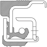 370022A National Oil Bath Seal