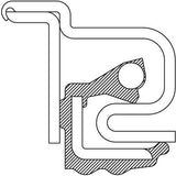 370034A National Oil Bath Seal