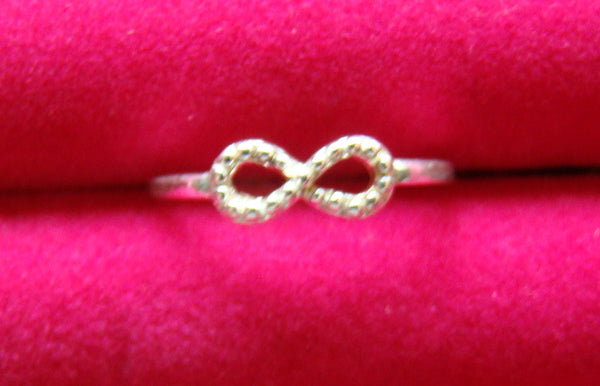 Infinity Infinite Ladies Ring Size 7