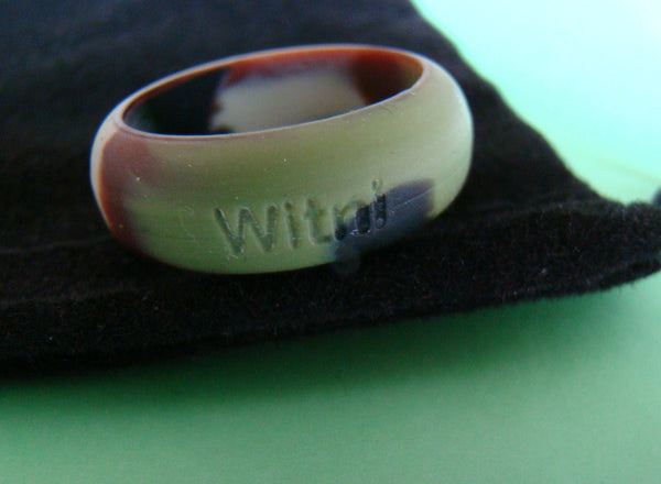 Camouflage Silicone Ring Band Custom Printed
