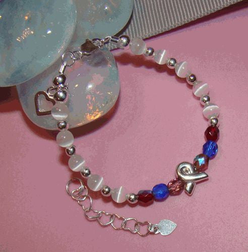 CHD - HLHS/Single Ventricle Awareness Baby Bracelet