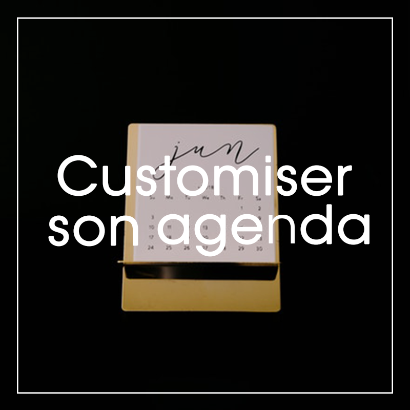 Customiser son agenda