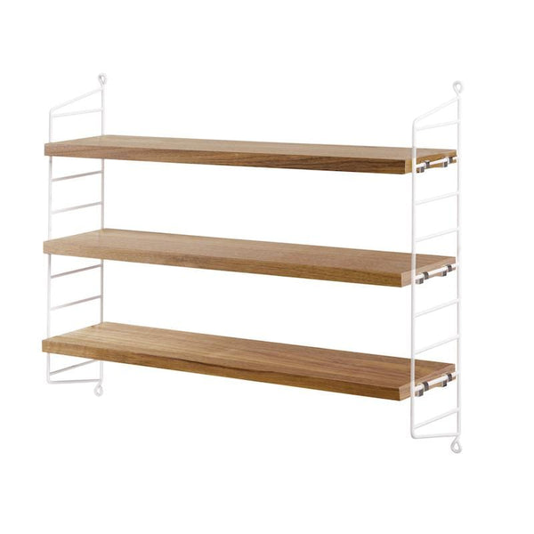 Etagere String Pocket Chene/blanc