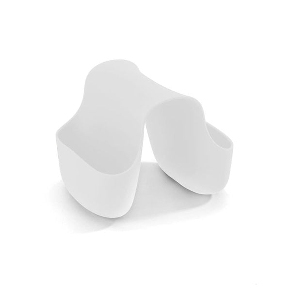 Range eponge blanc saddle