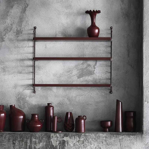 Etagere String Pocket Burugundy