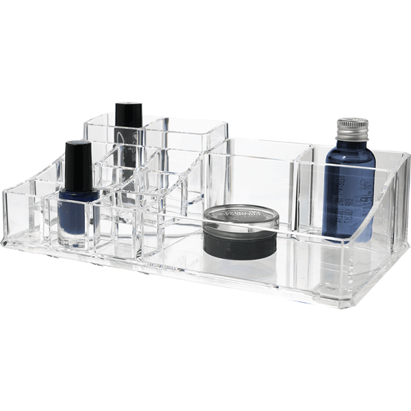 Organiseur cosmetique rectangle l transparent - Shoji