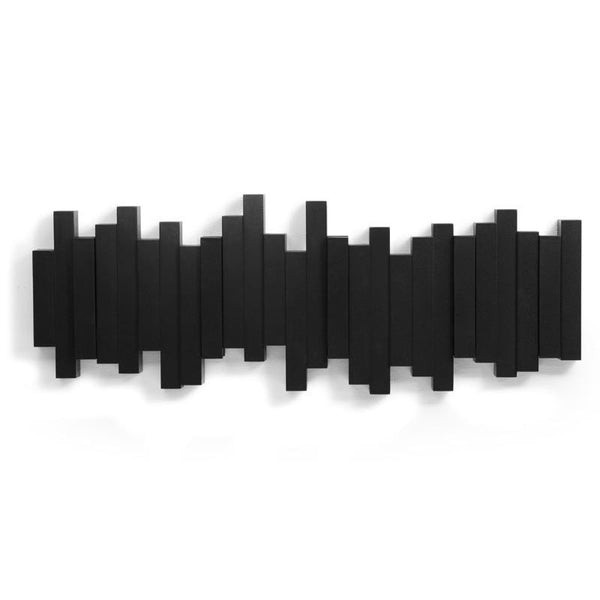 Porte-Manteaux Noir Sticks