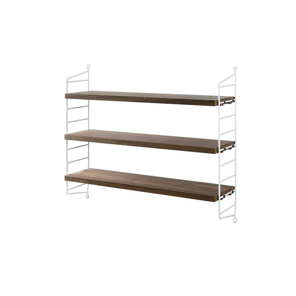 Etagere String Pocket Noyer/blanc