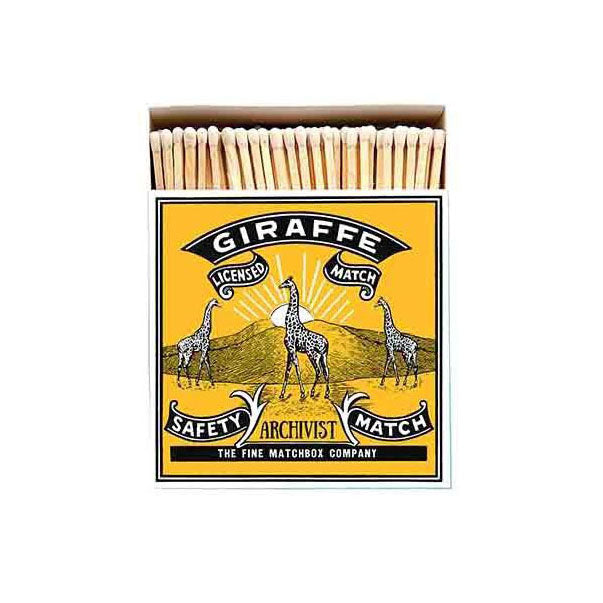 Luxury Matches - Giraffe