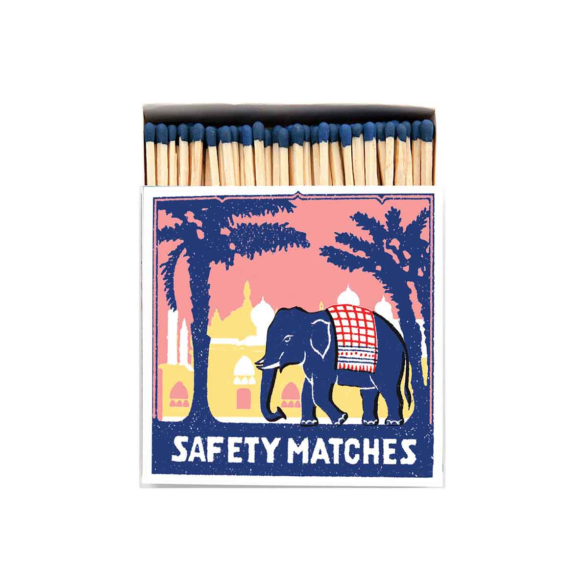 Luxury Matches - Pink Elephant