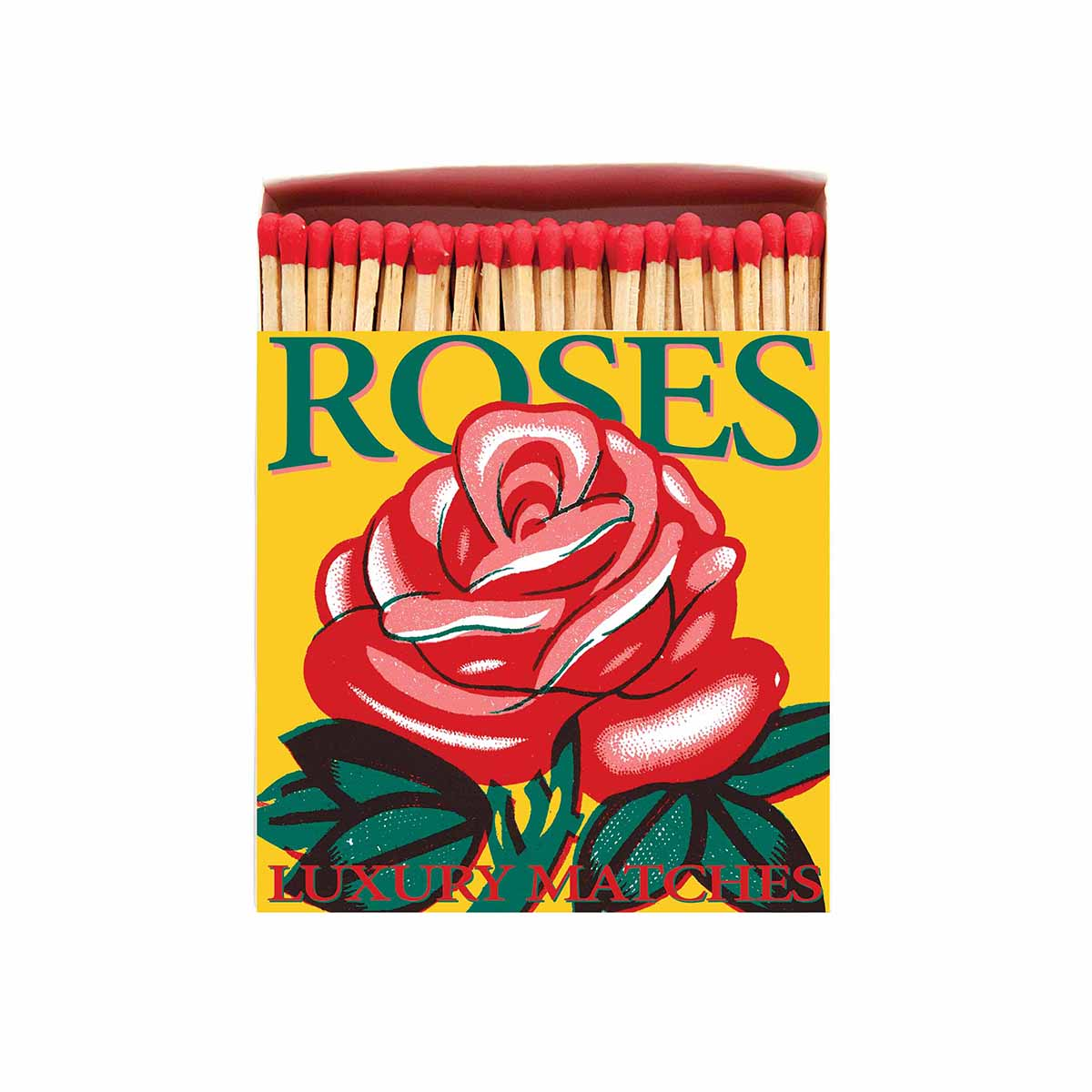 Luxury Matches -Red Rose