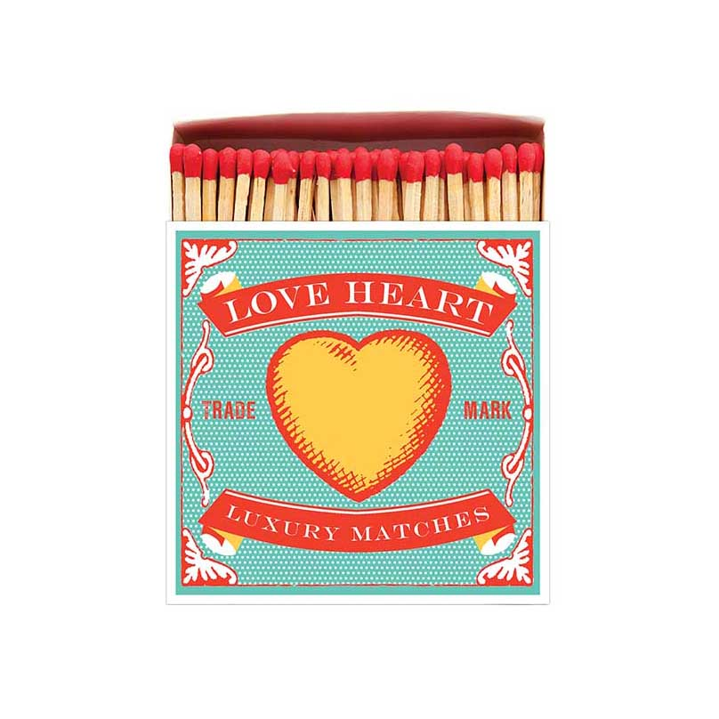 Luxury Matches - Loveheart